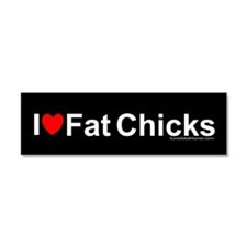 Fat Chicks Car Magnet