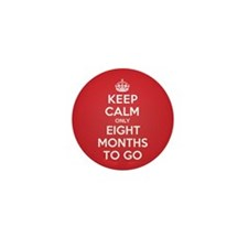 K C eight Months Mini Button (10 pack)