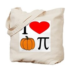 I Love Pumpkin Pie Tote Bag
