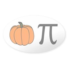 Pumpkin Pie Oval Decal