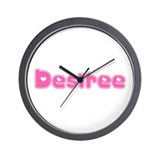 """Desiree"" Wall Clock"