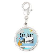 ABH San Juan Silver Round Charm