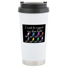 SHOE LOVER Ceramic Travel Mug