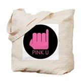 Pink U Tote Bag