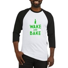 Wake and Bake Bong Baseball Jersey