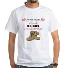 Proud US Navy Grandmother T-Shirt