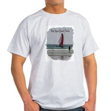 New Smyrna Beach Ash Grey T-Shirt