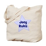 Joey Rules Tote Bag