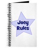 Joey Rules Journal