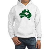 Aussie Roo Green - Hoodie