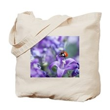 Cute Bellflower Tote Bag