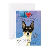 Toy Fox Terrier Greeting Cards (Pk of 10)