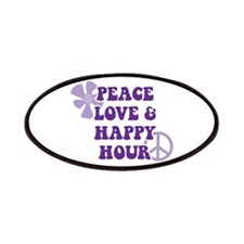 Peace Love and Happy Hour Patches