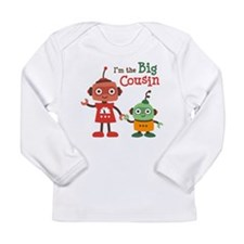 Big Cousin - Robot Long Sleeve Infant T-Shirt