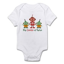 Big Cousin of Twins - Robot Infant Bodysuit
