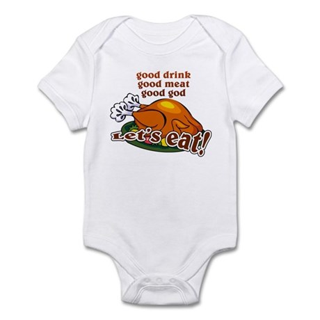 """Let's Eat!"" Infant Bodysuit"