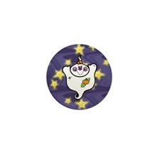 Cute Ghost Mini Button