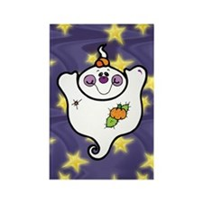 Cute Ghost Rectangle Magnet