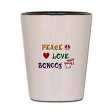 Bongos Shot Glass