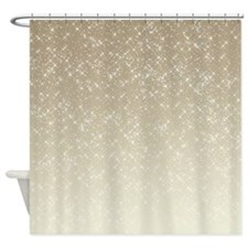 Sparkly Shower Curtains Sparkly Fabric Shower Curtain Liner