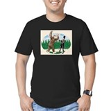 BigfootVsAbe.jpg T-Shirt