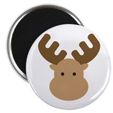 "Moose 2.25"" Magnet (10 pack)"