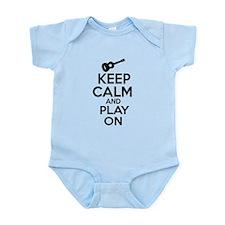 Ukulele lover designs Infant Bodysuit