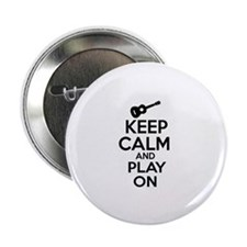 "Ukulele lover designs 2.25"" Button (10 pack)"
