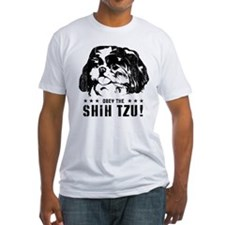 Obey the Shih Tzu! Ash Grey T-Shirt