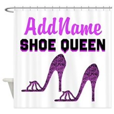 HIGH HEEL GIRL Shower Curtain