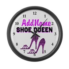 HIGH HEEL GIRL Large Wall Clock