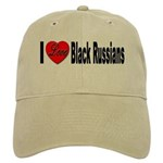 I Love Black Russians Cap