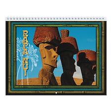 "TIKI ""Rapa Nui"" Easter Island Wall Calendar"