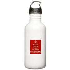 Kee Calm It's Only Down Syndrome Water Bottle