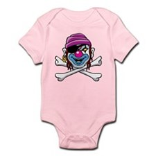 Smiling Pirate Clown Infant Bodysuit