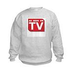 Funny As Seen on TV Logo Kids Sweatshirt