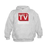 Funny As Seen on TV Logo Kids Hoodie