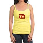 Funny As Seen on TV Logo Jr. Spaghetti Tank