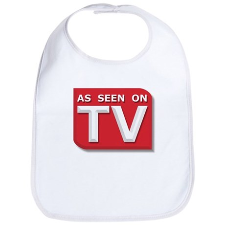 Funny As Seen on TV Logo Bib