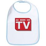 Funny As Seen on TV Logo Bib