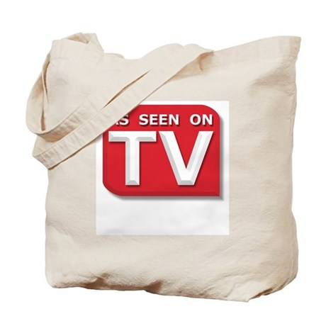 Funny As Seen on TV Logo Tote Bag