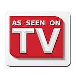 Funny As Seen on TV Logo Mousepad