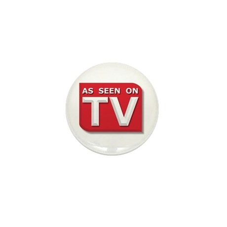 Funny As Seen on TV Logo Mini Button (10 pack)