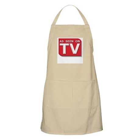 Funny As Seen on TV Logo BBQ Apron