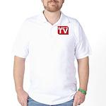 Funny As Seen on TV Logo Golf Shirt