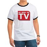 Funny As Seen on TV Logo Ringer T