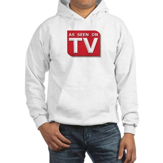 Funny As Seen on TV Logo Hooded Sweatshirt