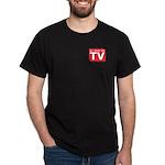 Funny As Seen on TV Logo Dark T-Shirt