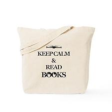 KEEP CALM AND READ BOOKS Tote Bag