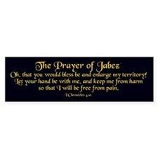 Jabez Prayer Bumper Car Sticker